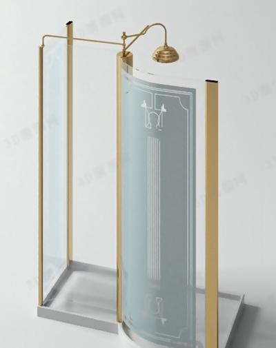 淋浴间33D模型【ID:217369566】