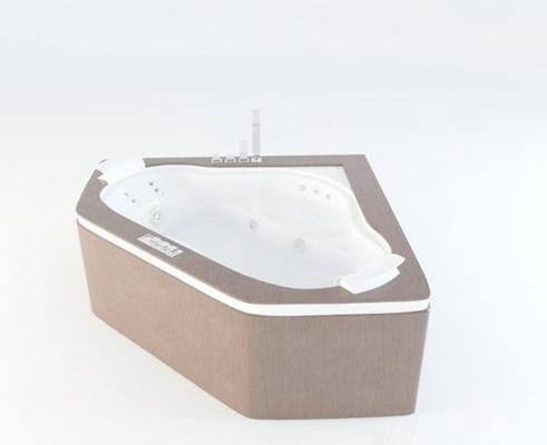 浴缸43D模型【ID:217380029】