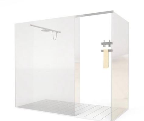 淋浴间13D模型【ID:217383522】
