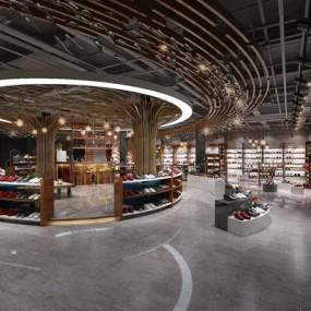 鞋子专卖店3D模型【ID:527999466】