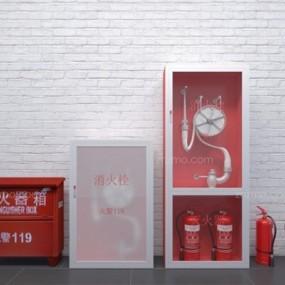 消防器材3D模型【ID:427951624】