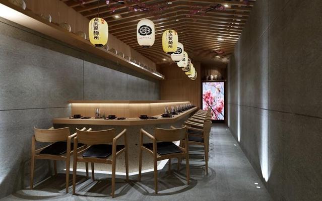 日式寿司店3D模型【ID:327909009】