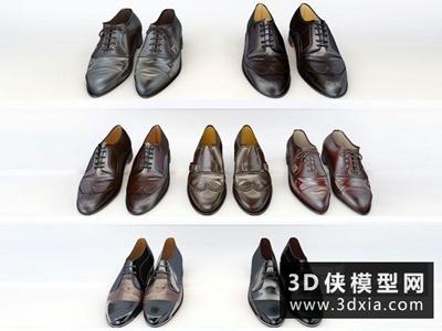皮鞋國外3D模型【ID:929517634】