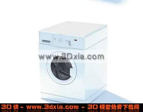 多功能3D干洗机模型3D模型【ID:2311】