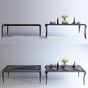 A&X 简欧餐桌组合 简欧餐桌 餐具 A&X