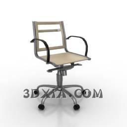 d办公椅sdown-188-3DS格式3D模型【ID:23319】