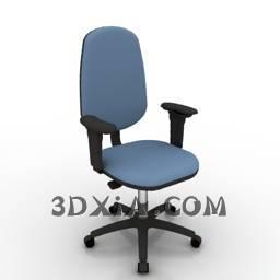 辦公椅c免費down-55-3DS格式3D模型【ID:23429】