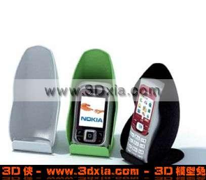 漂亮的NOKIA手机3D模型【ID:2362】