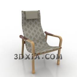 d休闲椅sdown-134-3DS格式3D模型【ID:23899】