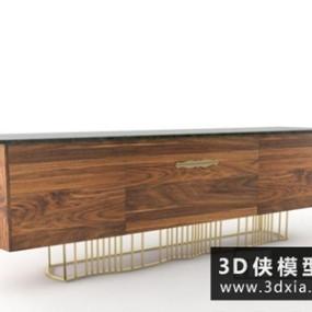 现代木质电视柜】