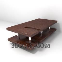 方形桌子A-10-3DS格式3D模型【ID:25278】