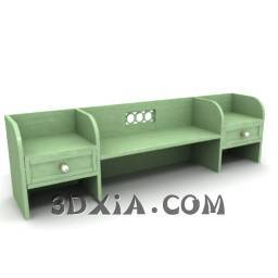 d各类桌子sdown-197-3DS格式3D模型【ID:25688】