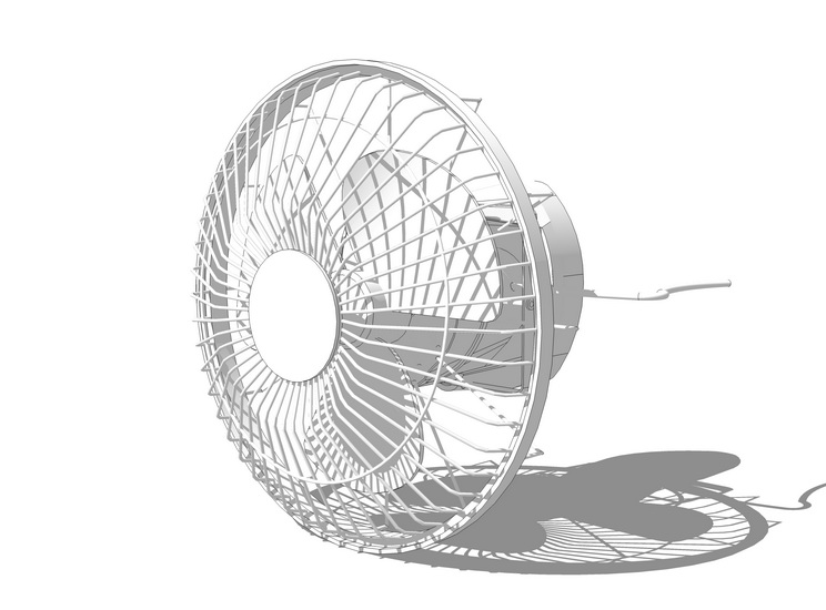 電風扇SU模型【ID:636354838】