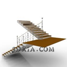 d楼梯sdown-10-3DS格式3D模型【ID:26267】