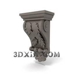 d柱头sdown-29-3DS格式3D模型【ID:26827】