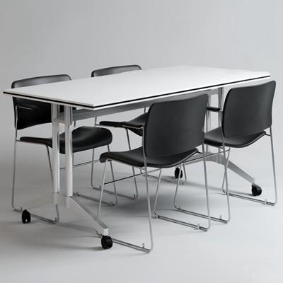 现代办公小会议桌3D模型【ID:26838235】