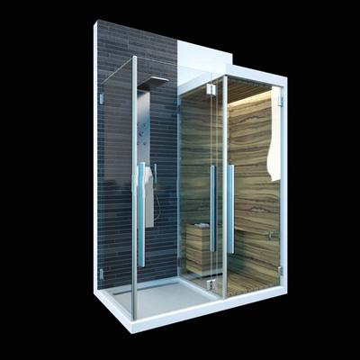 现代淋雨桑拿房现代3D模型【ID:26899802】
