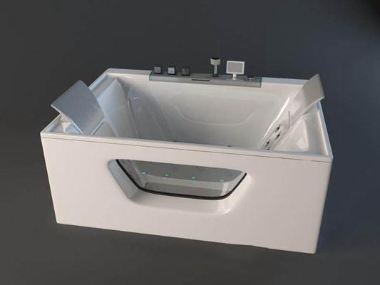 浴缸18卫浴3D模型【ID:26933803】