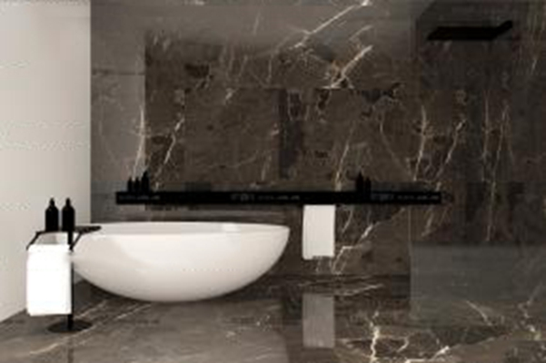 现代浴缸毛巾架组合3D模型【ID:26973204】