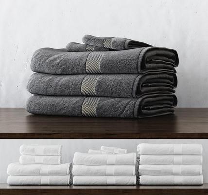 现代洗沐毛巾3d模型