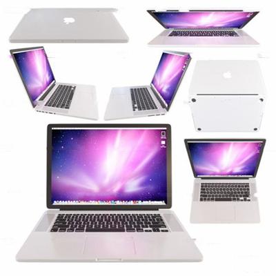 现代苹果笔记本电脑3D模型【ID:27070460】