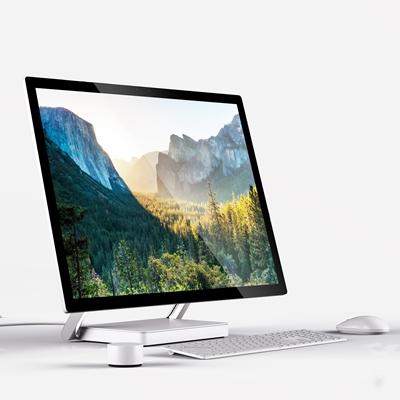 现代电脑显示屏键盘组合3D模型【ID:27075769】