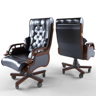 办公椅3D模型【ID:27083292】