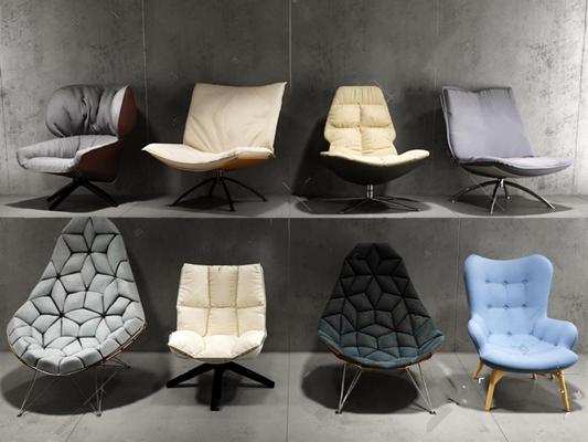 躺椅3D模型【ID:27083965】