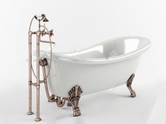 浴缸3D模型【ID:27092007】