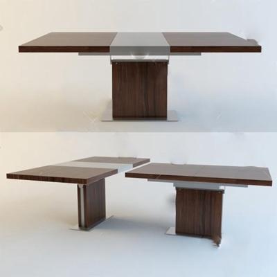 会议桌3D模型【ID:27092336】