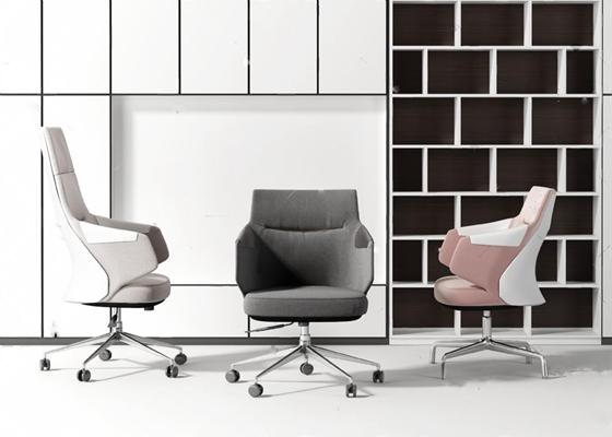 办公椅3D模型【ID:27094492】