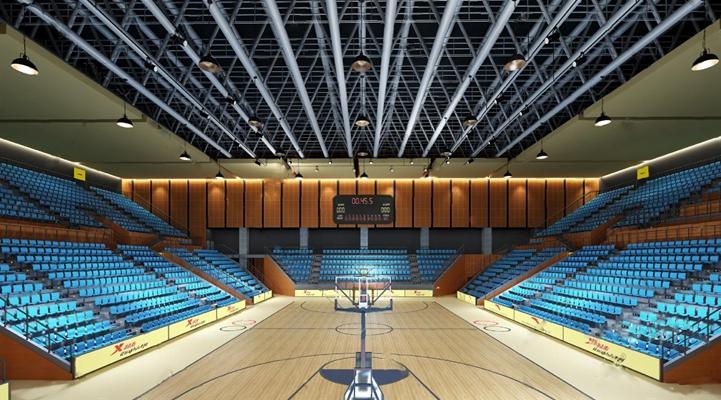现代篮球馆3D模型【ID:27098623】