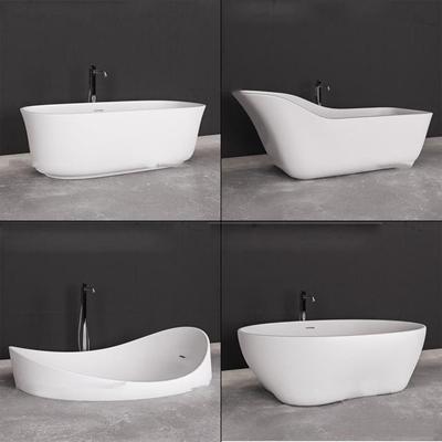 现代浴缸组合3D模型【ID:27184104】
