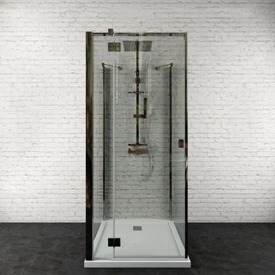 现代淋浴房3D模型【ID:27189357】