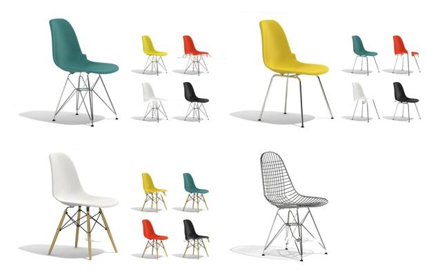 现代单椅组合3D模型【ID:27197442】