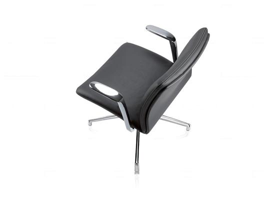 现代皮革办公椅3D模型【ID:27218794】