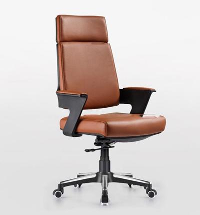 现代皮革办公椅3D模型【ID:27222590】