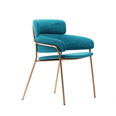 现代布艺单椅3D模型【ID:27226042】