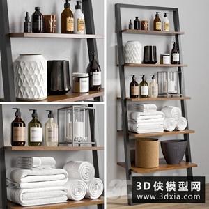洗浴用品模型下载国外3D模型【ID:929326836】