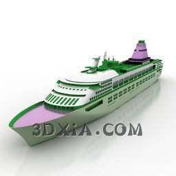 货船3D模型【ID:27895】