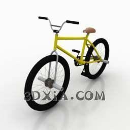 自行车模型3D模型【ID:27952】