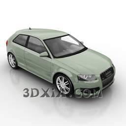 奥迪q7c-3DS格式3D模型【ID:27955】