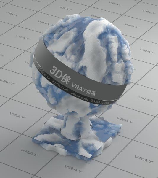 冰河Vray材質【ID:836422060】
