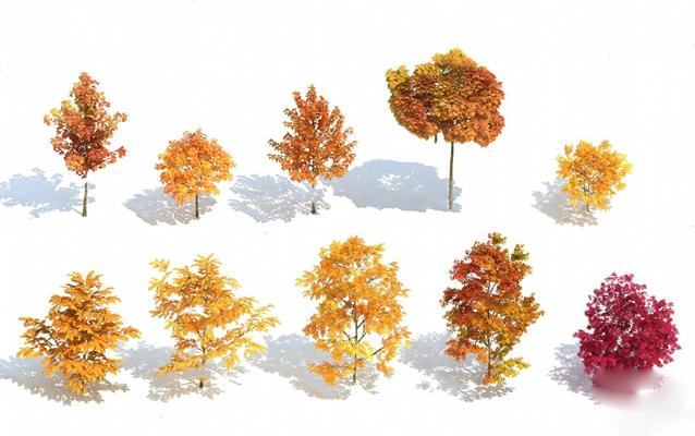 树3D模型【ID:320014615】
