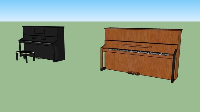 钢琴SU模型【ID:939557117】