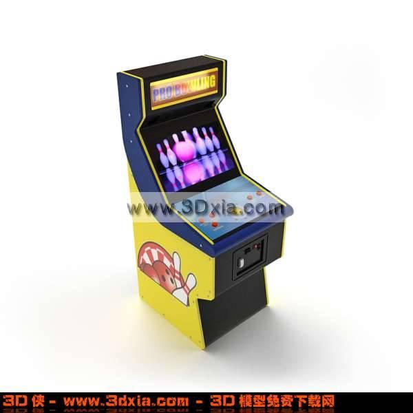 精美可爱的老虎机3D模型【ID:2802】