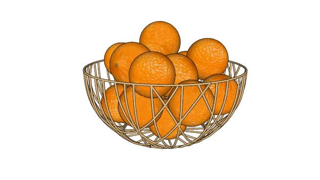 柑橘水果SU模型【ID:739558627】