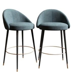 现代吧椅3D模型【ID:941979237】