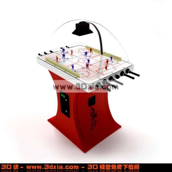 先进的桌上足球器3D模型【ID:2822】