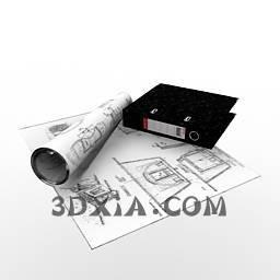 d学习品sdown10-3DS格式3D模型【ID:28531】